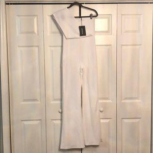 White jumpsuit never worn